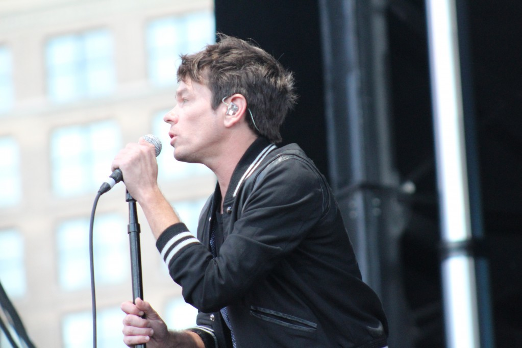 Nate Ruess at Boston Calling Music Festival. Photo by Olivia Perreault | Cigar