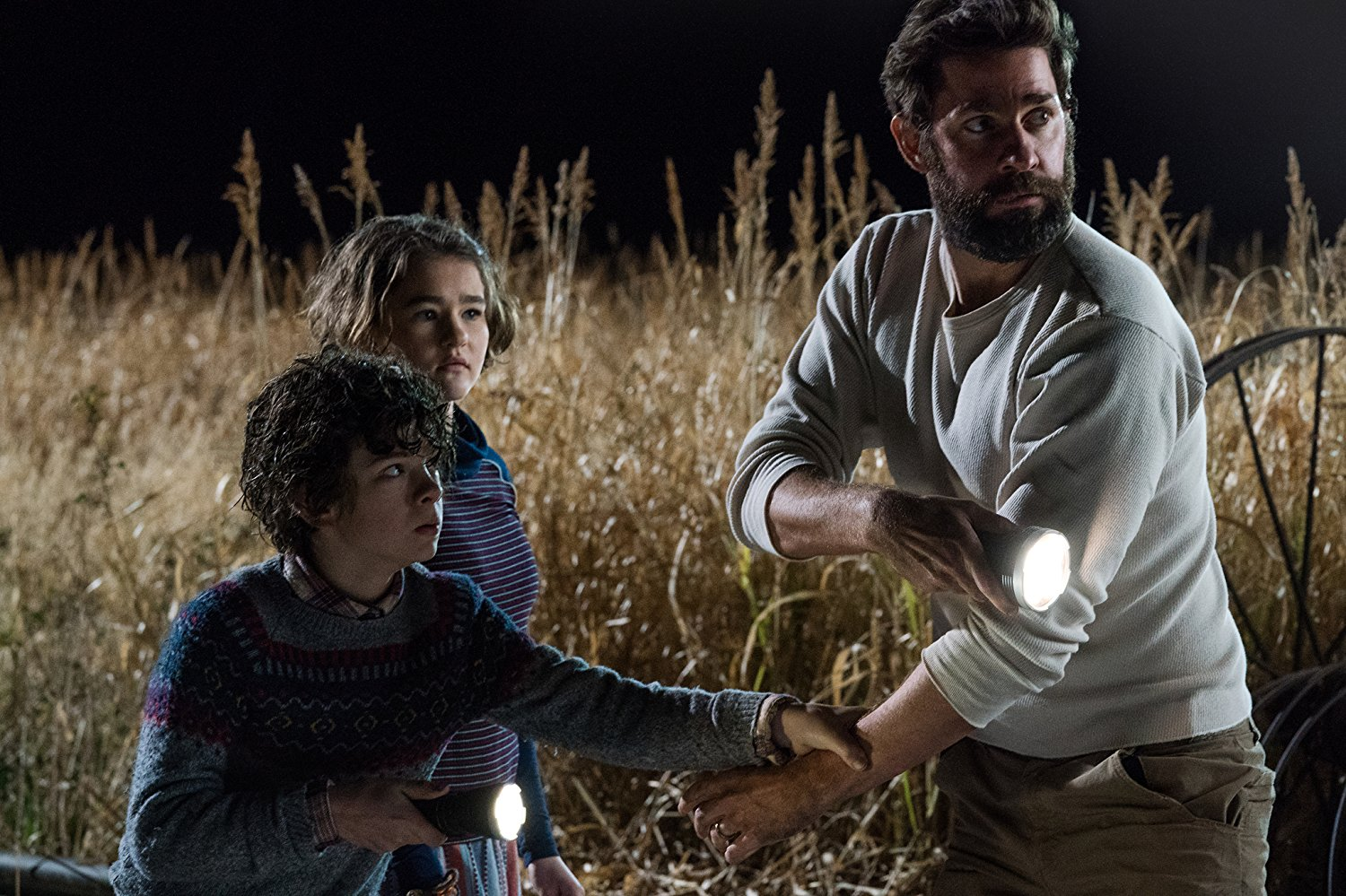 Movie Review: 'A Quiet Place,' a character driven creature
