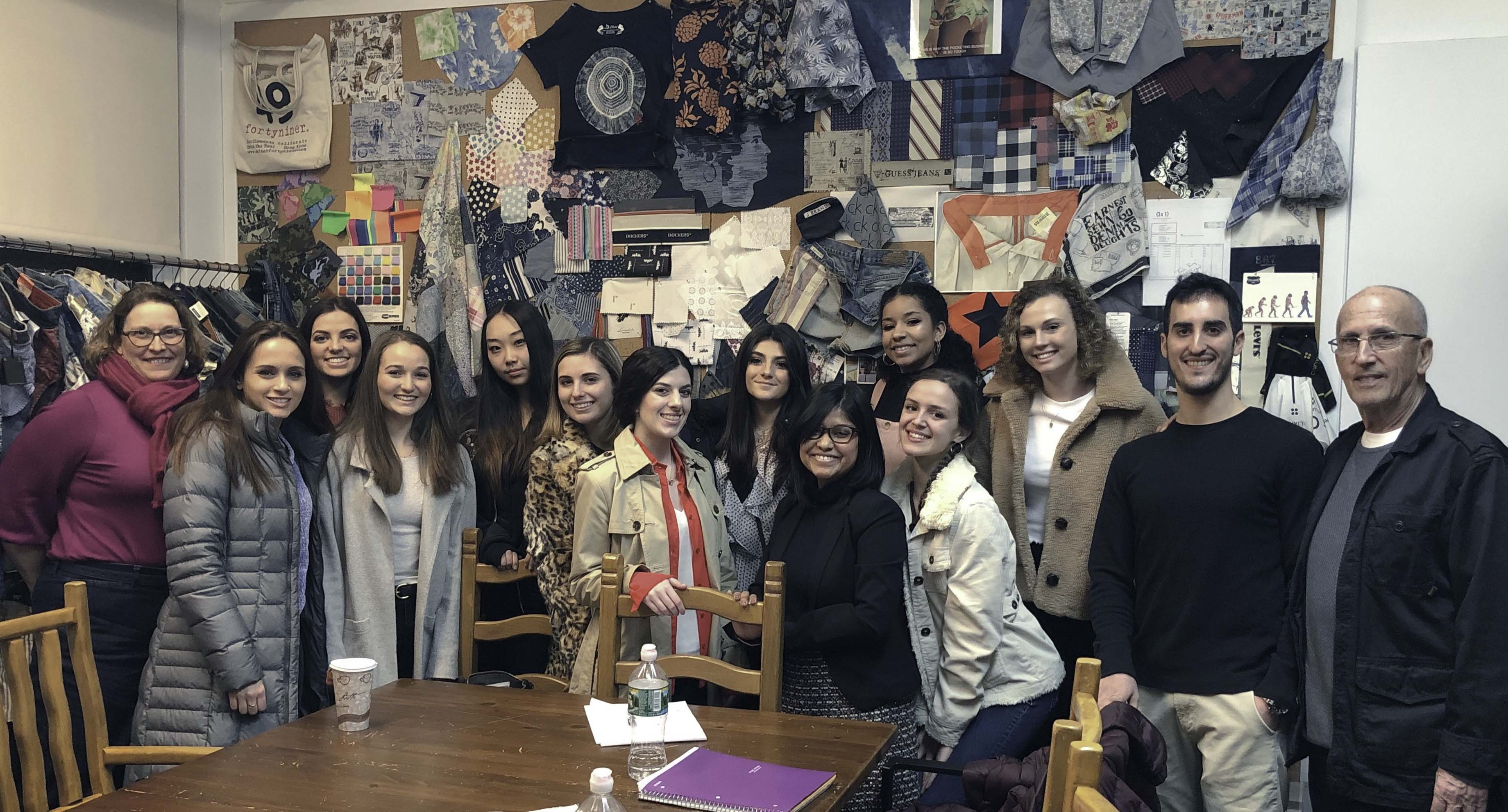 Students Tour the NYC Fashion Industry over Spring Break