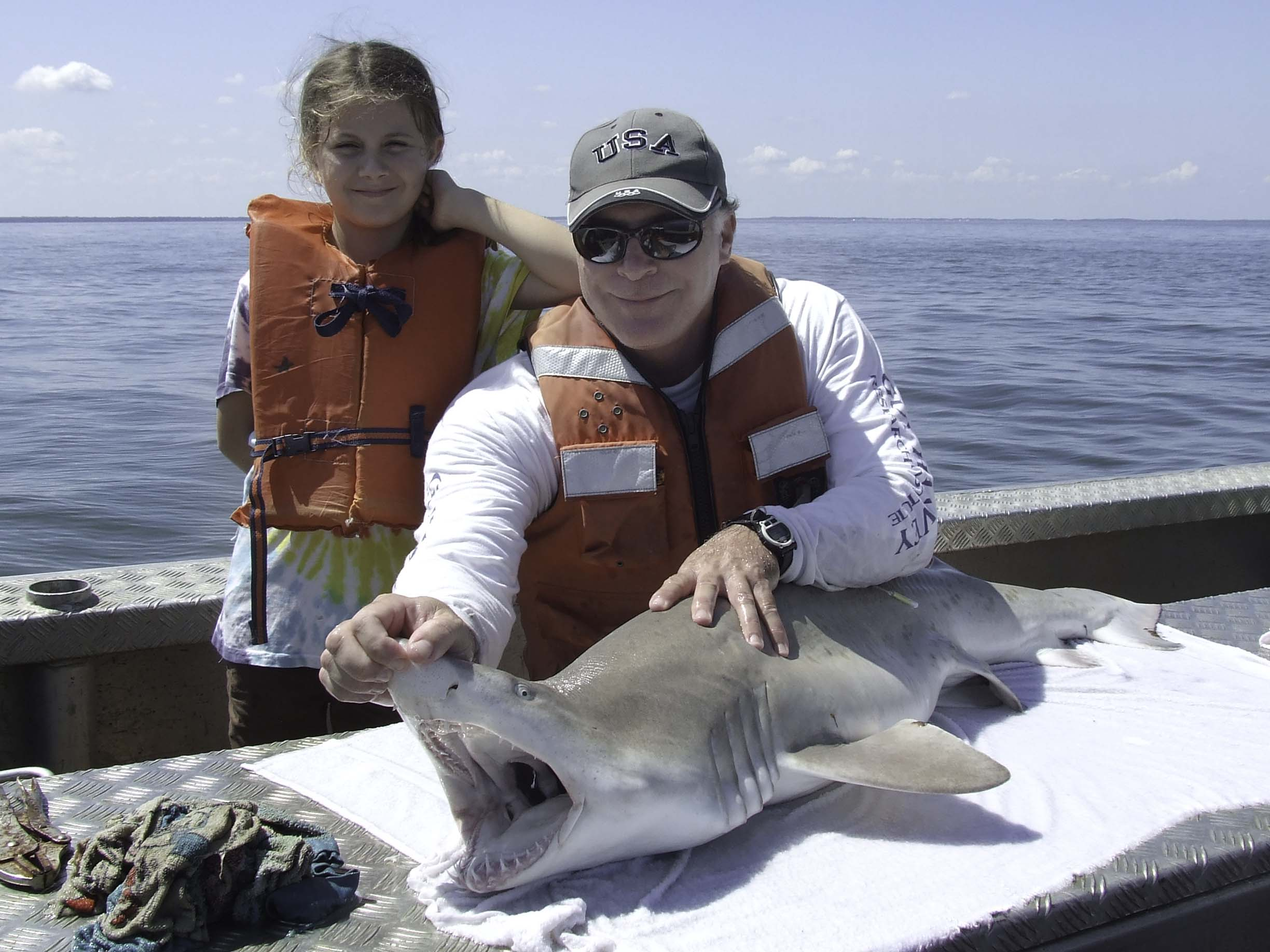 Professor Loves Sharks Almost as Much as He Loves His Daughter